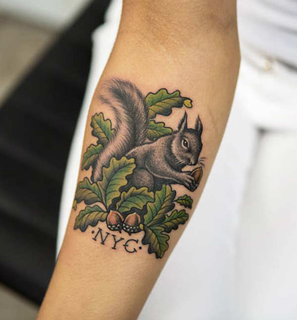 Squirrel tattoo4