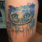Tattoo Cheshire Cat