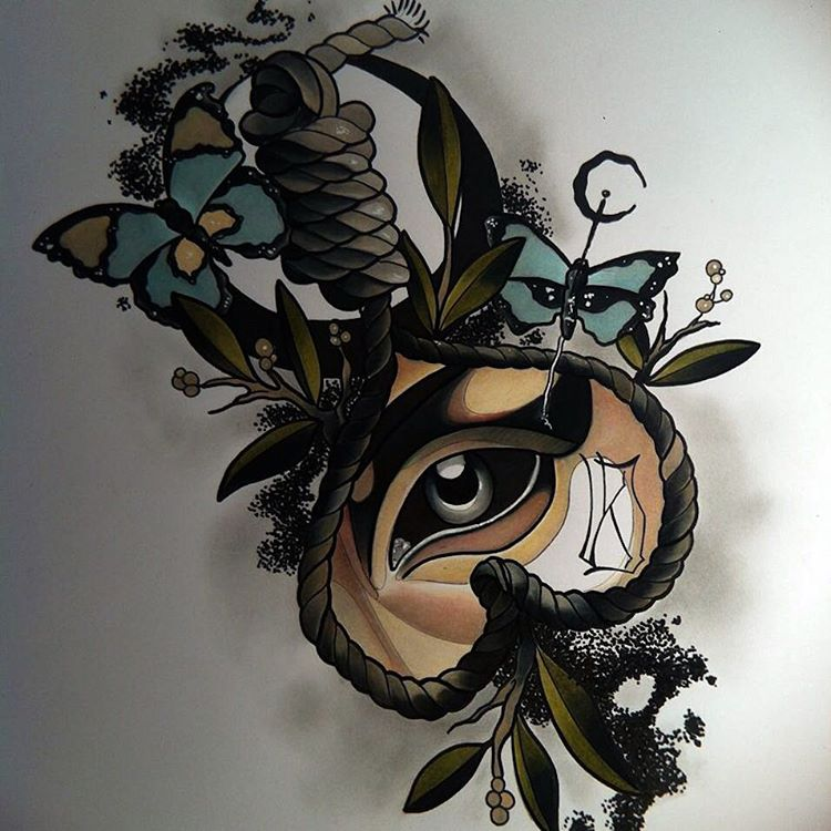 Tattoo Eye Design