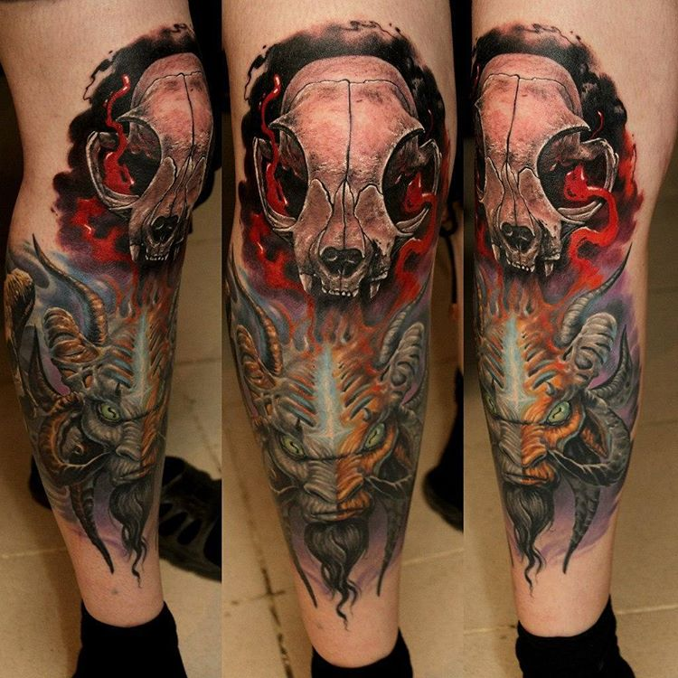 Tattoo leg sleeve best tattoo ideas gallery for Thigh sleeve tattoo