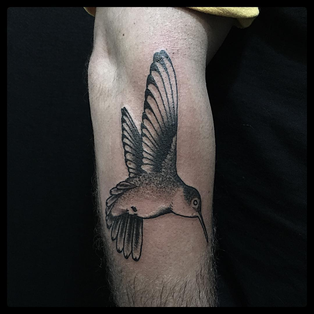 Tattoo of Hummingbird