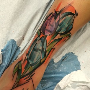 Tulips Tattoo