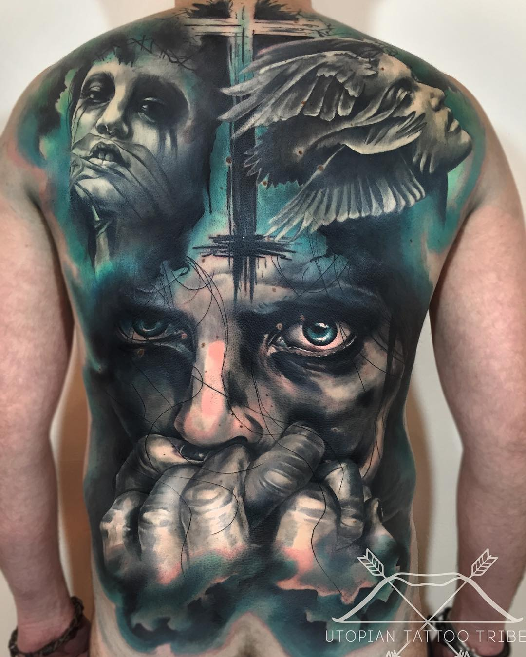 Good vs Evil Tattoo
