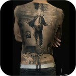3D Back Tattoo