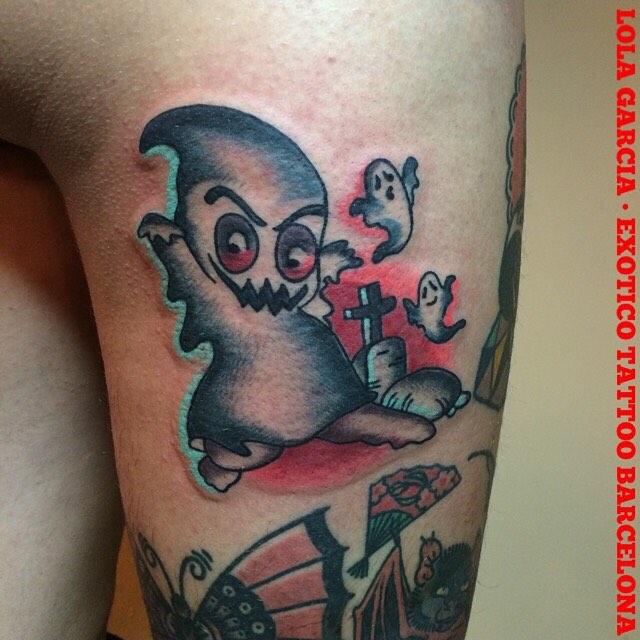 Kid Ghost Tattoo