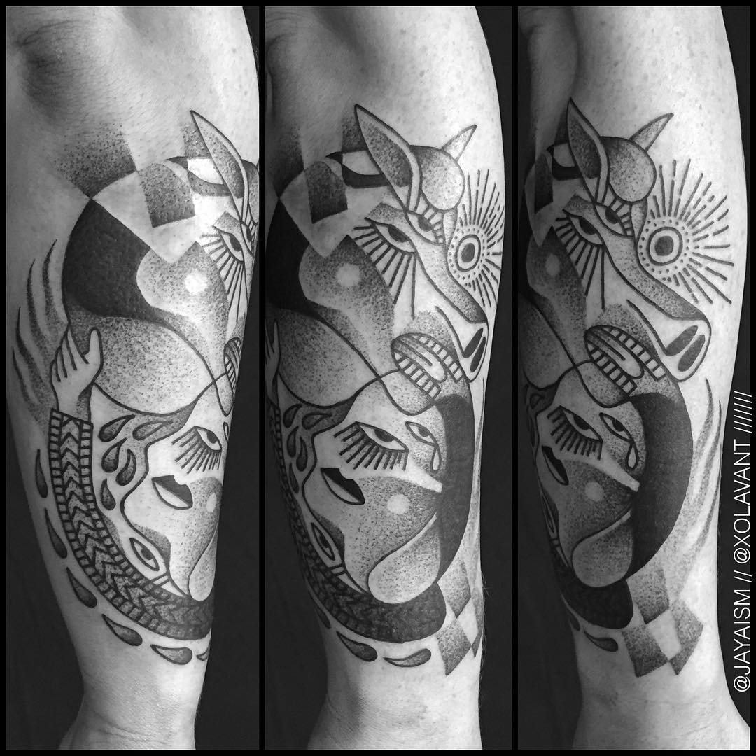 Abstract Tattoo Arm