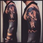 Blackwork Tattoo Sleeve