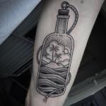 Bottle Tattoo