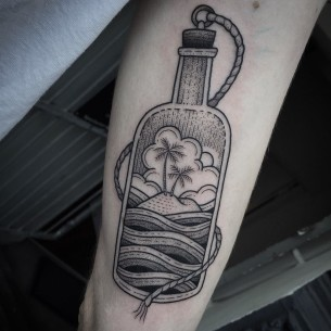 Bottle Tattoo