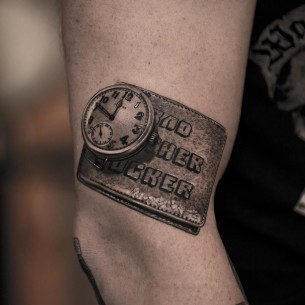 Butchwatch 3D tattoo