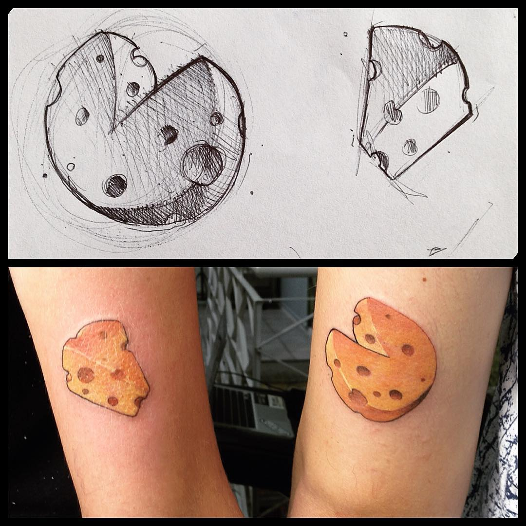 Cheese Tattoo