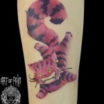 Crazy Cat Tattoo