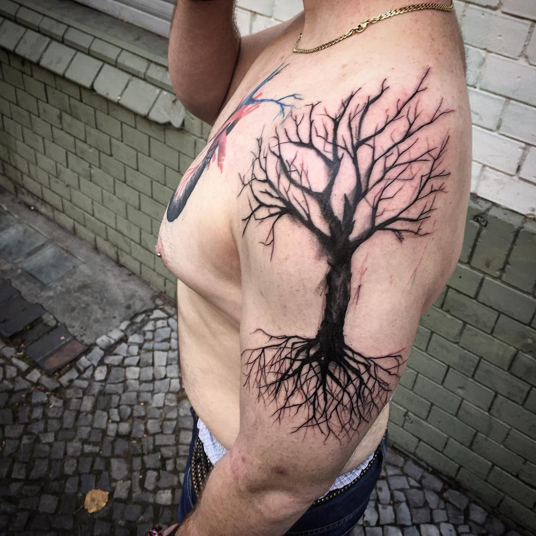 Dead Tree Tattoo