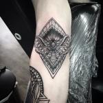 Death Moth Tattoo