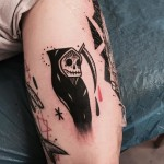 Death Tattoo Design