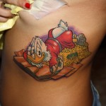 Duck Tales Tattoo