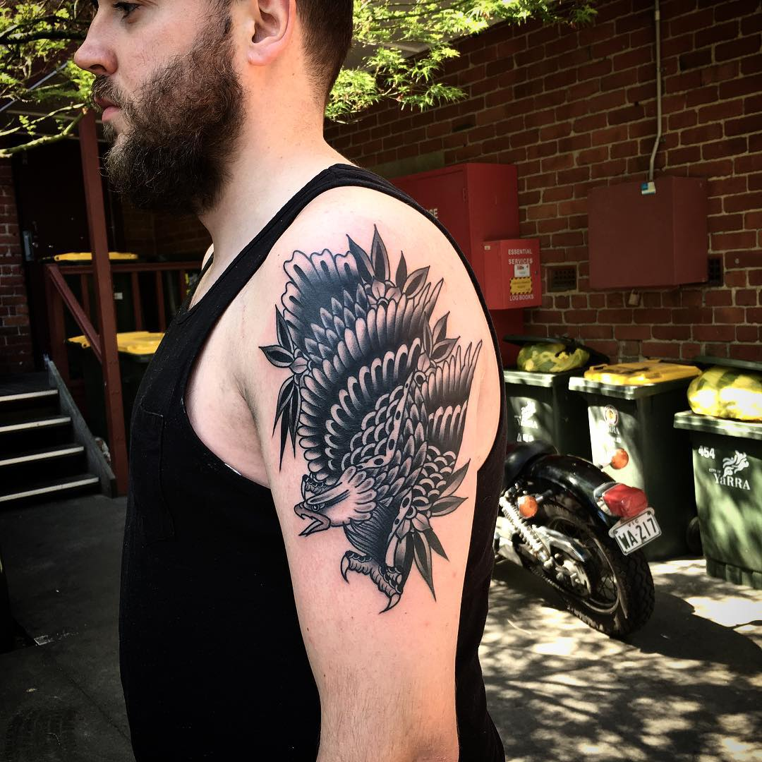 Eagle Shoulder Tattoo