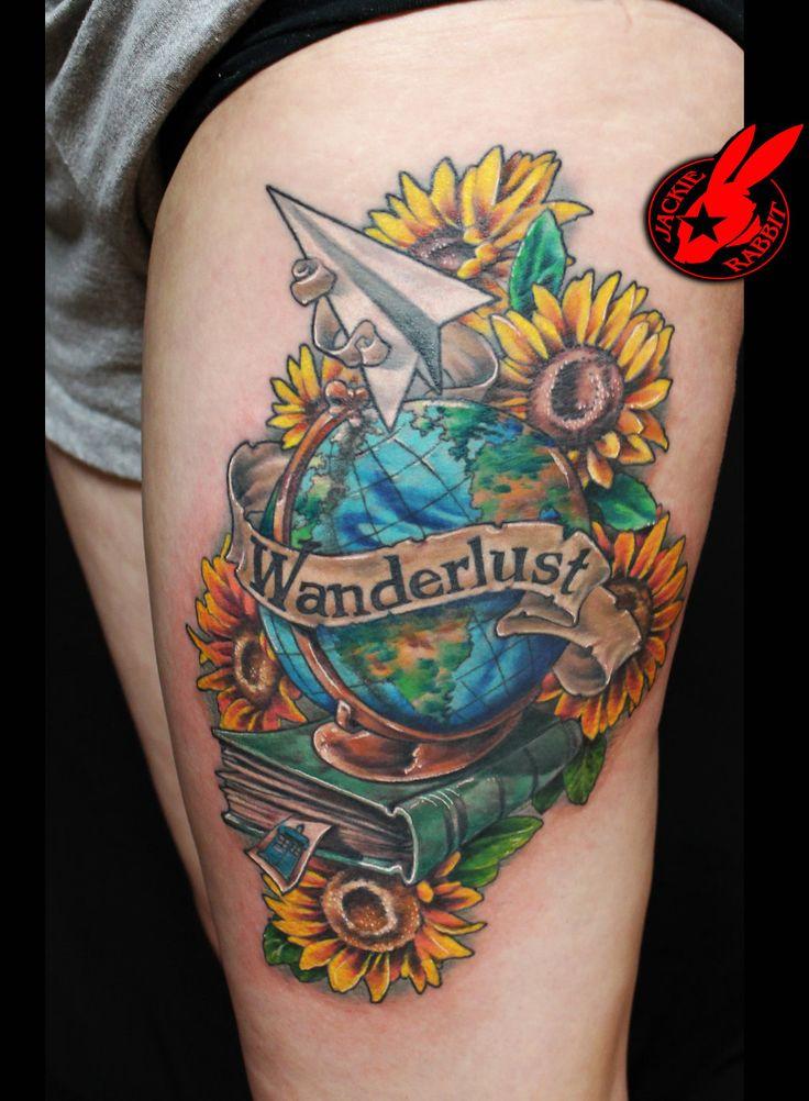 Globe Tattoo7