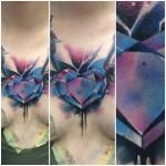 Heart Diamond Tattoo