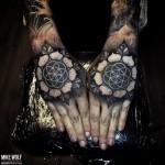 Heilige Geometrie Tattoo