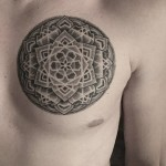 Mens Mandala Tattoo