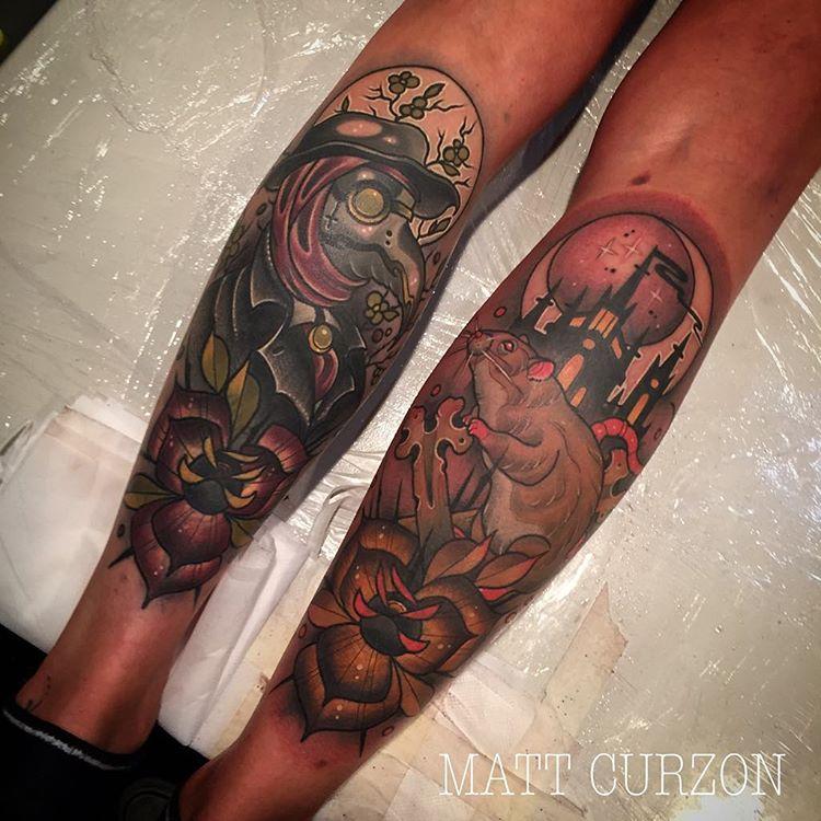 Plague Tattoo
