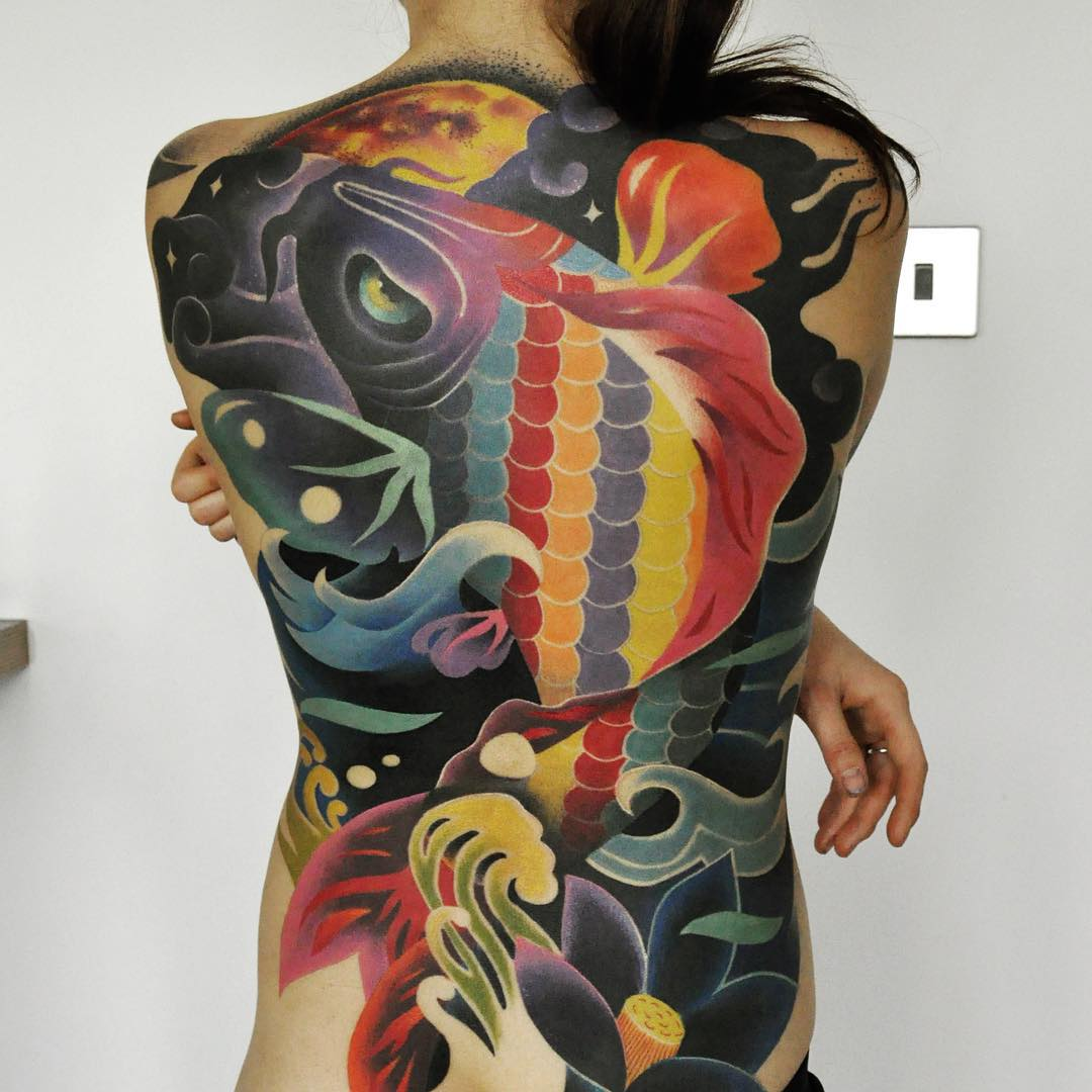 Psychedelic River Tattoo | Best Tattoo Ideas Gallery