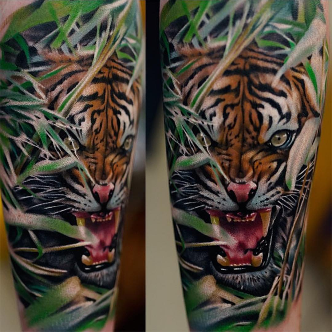 Realistic Tiger Tattoo | Best Tattoo Ideas Gallery - photo#1