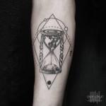 Sand Clock Tattoo