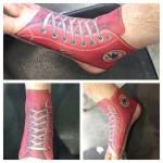 Shoe Tattoo