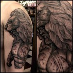 Shoulder Hercules Tattoo