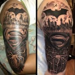 Super Hero Signs Tattoo