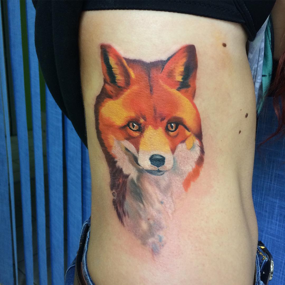 Tattoo Fox