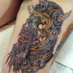 Tattoo Viking Art