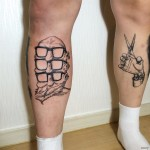 Tattoos on Legs