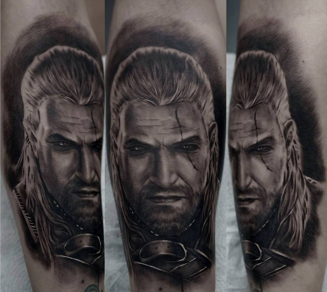 The Witcher Tattoo