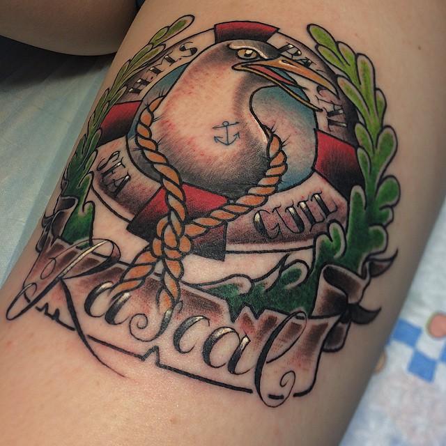 Seagull Tattoo Best Tattoo Ideas Gallery