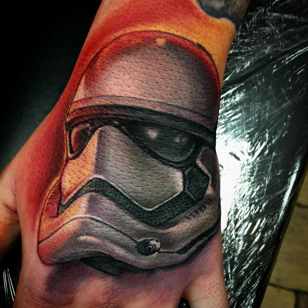 hand trooper tattoo