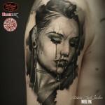 Cervena Fox Portrait Tattoo