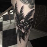 Coco Skull Tattoo on Leg