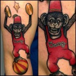 Crazy Monkey Tattoo