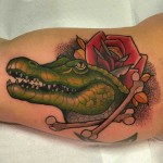 Crocodile Tattoo