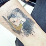 Girl Warrior Tattoo