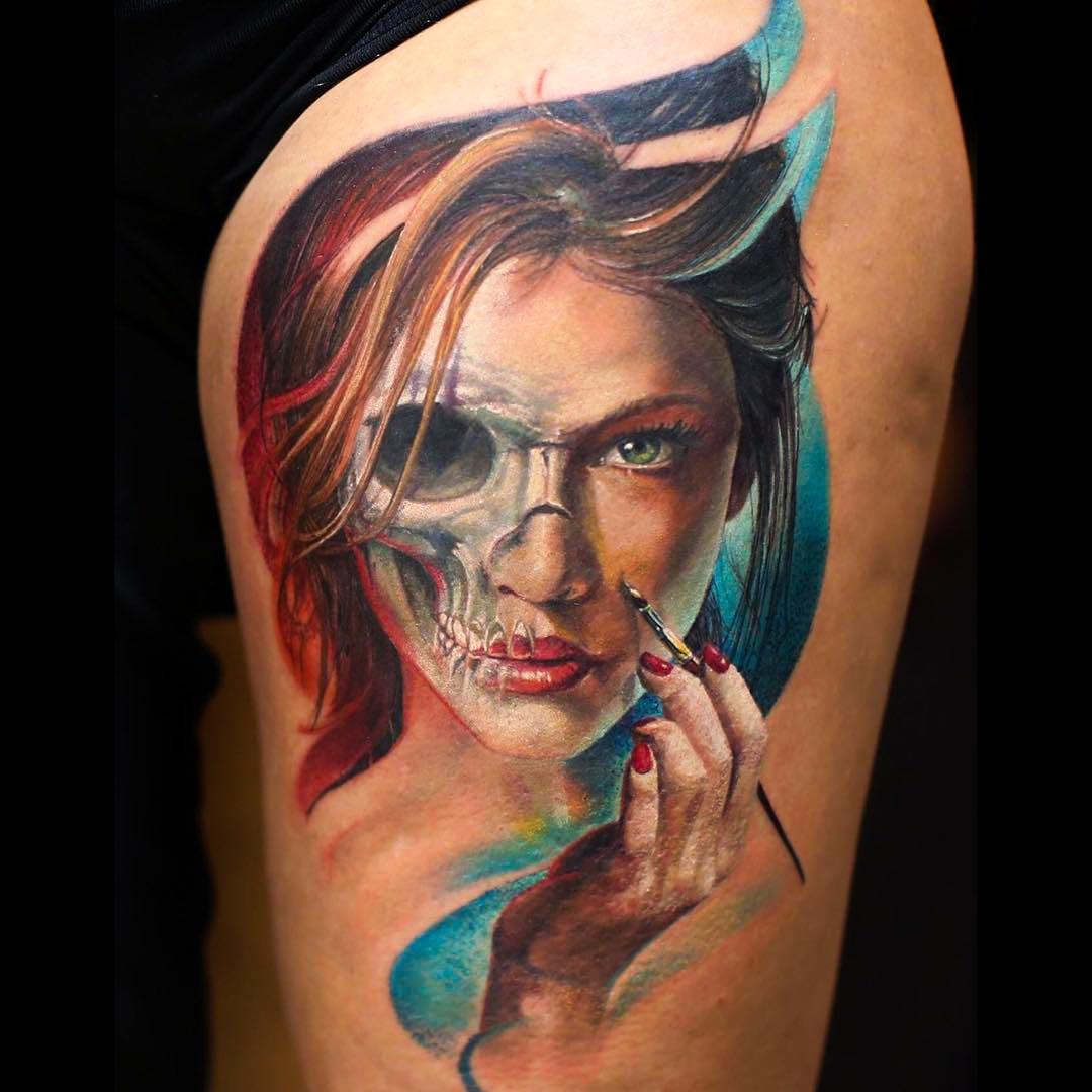 Facial Tattoo Gallery 85