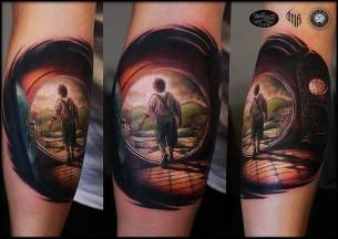 House of Hobbit Tattoo