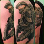 Master Chief Tattoo