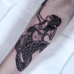 Mermaid Arm Tattoo