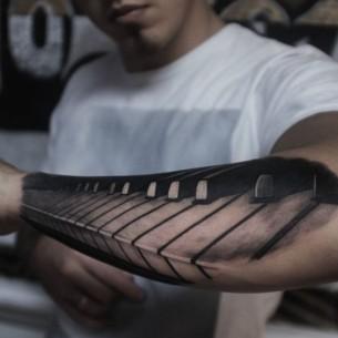 Music Key Tattoo