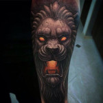 Stone Lion Tattoo
