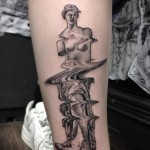 TV Noise Venus de Milo Tattoo